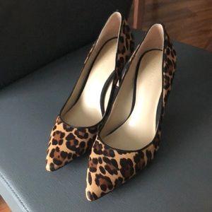Ann Taylor calf hair shoes - size 6
